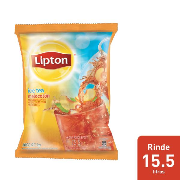 Lipton® Ice Tea Sabor Melocoton - Aguas Lipton® gran sabor y rendimiento dentro de mi menú.