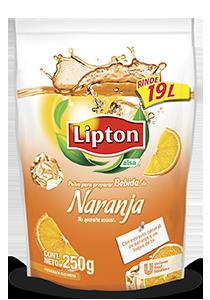 LIPTON® POLVO PARA PREPARAR BEBIDA DE NARANJA