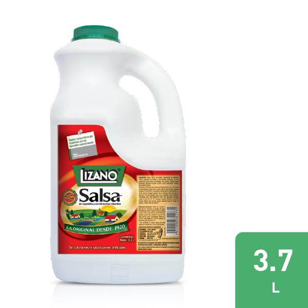 Lizano® Salsa Regular 3.7 L - Salsa Lizano es la auténtica salsa de tradición Costarricense que puede usarse en gran variedad de platillos, resaltando el aroma y sabor de sus comidas.