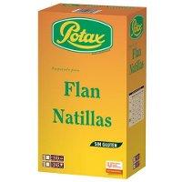Flan/Natillas Potax deshidratado. 185 raciones