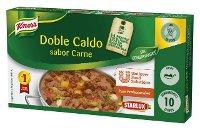 Knorr Caldo Doble Carne Pastilla Sin Gluten 200g