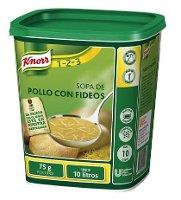 Knorr Sopa de Pollo Con Fideos deshidratada bote 750g