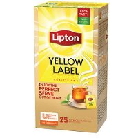 Lipton Té Yellow Label Tea Caja de 25 Sobres
