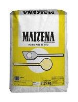 Maizena Harina Fina de Maiz Espesante Sin Gluten Saco 25Kg