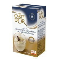 Mousse Chocolate Blanco con Pepitas Carte d'Or 45 raciones