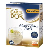 Mousse sabor Limon Carte d'Or 60 raciones Sin Gluten