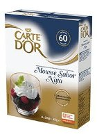 Mousse sabor Nata Carte d'Or 60 raciones
