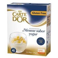 Mousse sabor Yogur Carte d'Or 45 raciones Sin Gluten