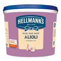 Salsa Alioli Hellmann's cubo 3L