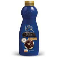 Sirope Crujiente Chocolate Negro Carte d'Or botella 900g