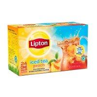 Té frío sabor Melocotón Lipton 2x24ct
