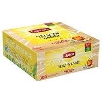 Té Negro Lipton Yellow Label, 100 bolsitas con sobres