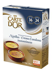 Carte d'Or Natillas/Crema Catalana Deshidratado Instantáneas 3x172G