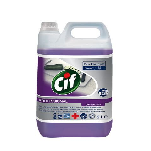 Cif Prof. 2 in 1 cleaner disinfectant 2x5L -