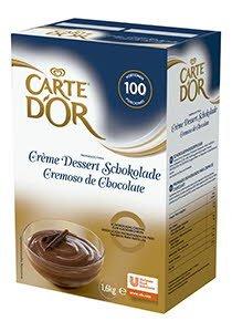 Cremoso de Chocolate Carte d'Or deshidratado. 60 raciones
