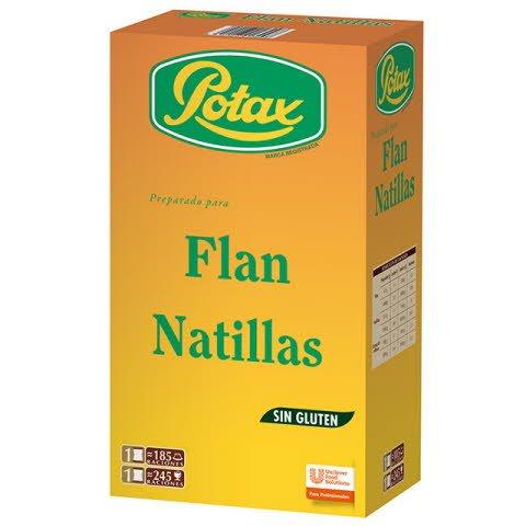 Flan/Natillas Potax deshidratado 185 raciones Sin Gluten -