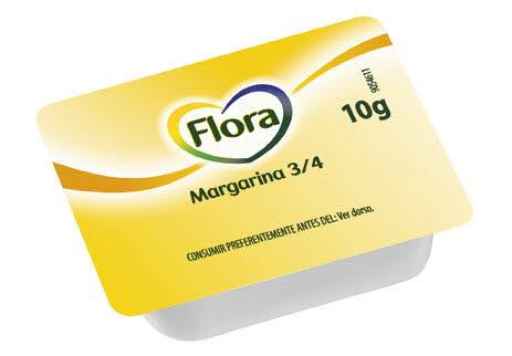 Flora Margarina Microtarrinas 10G 20 KG (200X10G)