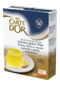Gelatina Piña Carte d'Or 50 raciones -
