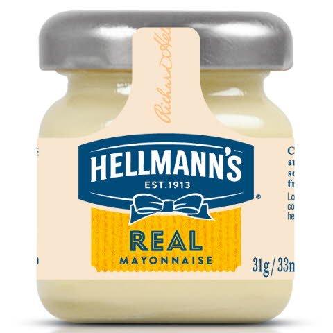Hellmann's Mini tarro cristal Mayonesa  -