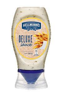 Hellmann's Salsa Patatas Deluxe Bocabajo 250 ML