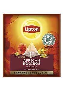 Infusión Lipton African Rooibos Caja con 25 sobres