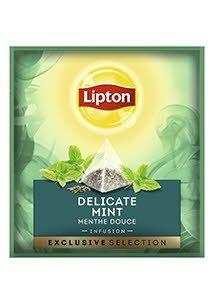 Infusión Lipton Delicada Menta, Caja con 30 sobres