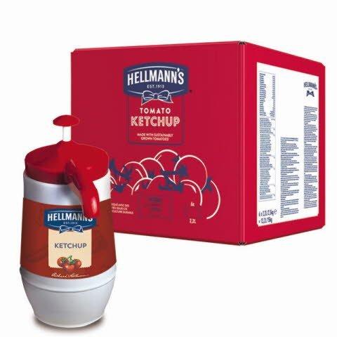 Ketchup Hellmann's Dispensador 2,25KG