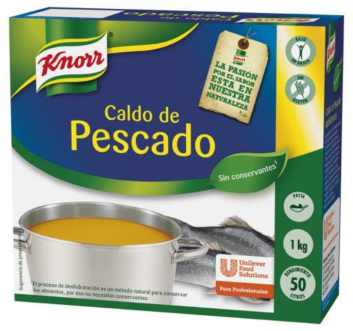 Knorr Caldo de Pescado en Pastilla 1Kg