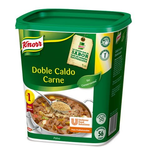 Knorr Caldo Doble Carne deshidratado bote 1Kg -