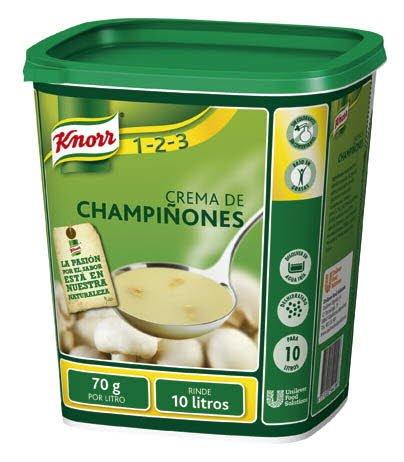 Knorr Crema de Champiñones deshidratada bote700g