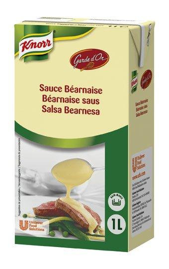 Knorr Garde D'Or Salsa Bearnesa líquida lista para usar brik 1L