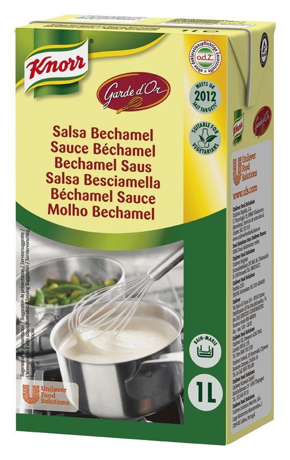 Knorr Garde D'Or Salsa Bechamel líquida lista para usar brik 1L