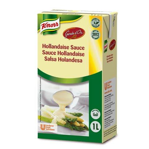 Knorr Garde D'Or Salsa Holandesa líquida lista para usar brik 1L -