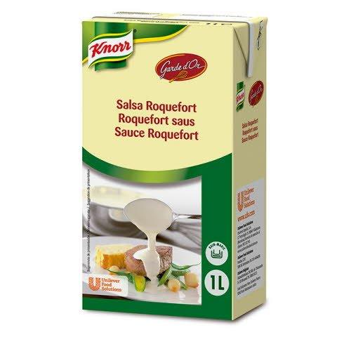 Knorr Garde D'Or Salsa Roquefort líquida lista para usar brik 1L -