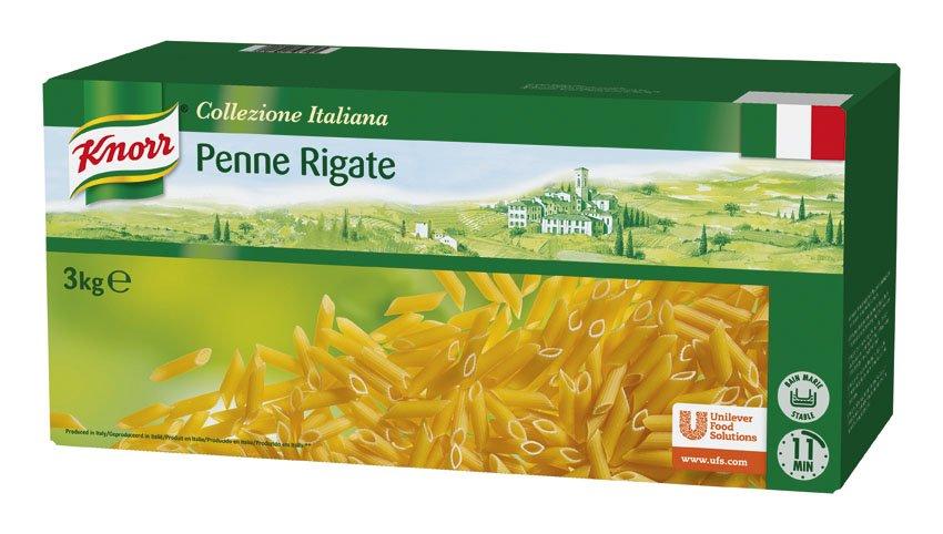 Knorr Penne Rigate Pasta Seca Caja 3 Kg