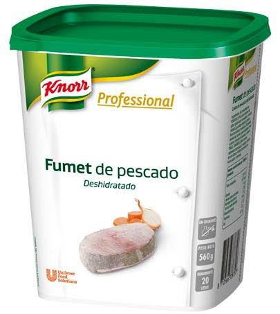 Knorr Profesional Fondo de Pescado deshidratado bote 560g