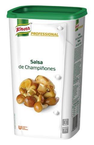 Knorr Profesional Salsa de Champiñones deshidratada bote 1Kg -
