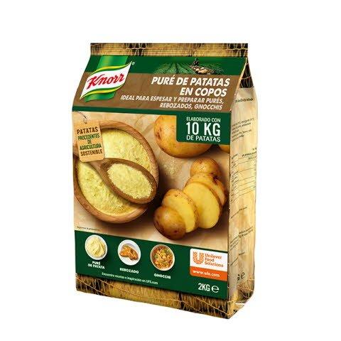 Knorr Puré de patatas copos bolsa 2Kg Sin Gluten -