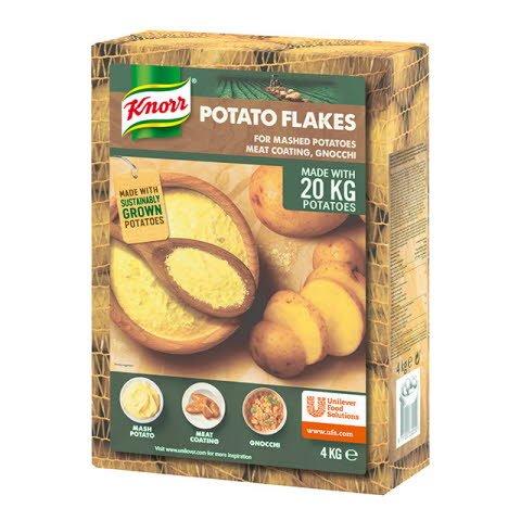 Knorr Puré de patatas copos bolsa 4kg Sin Gluten
