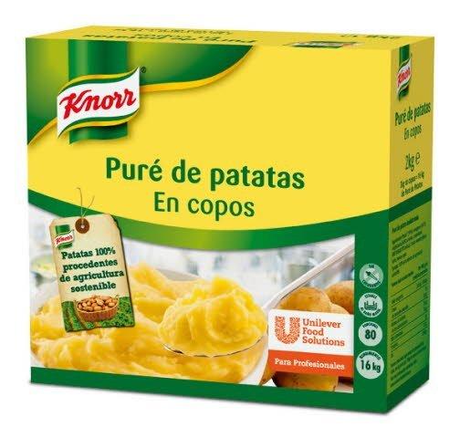 Knorr Puré de patatas copos caja 2Kg