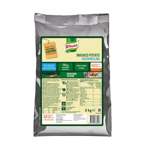 Knorr Puré de patatas en frío bolsa 3Kg