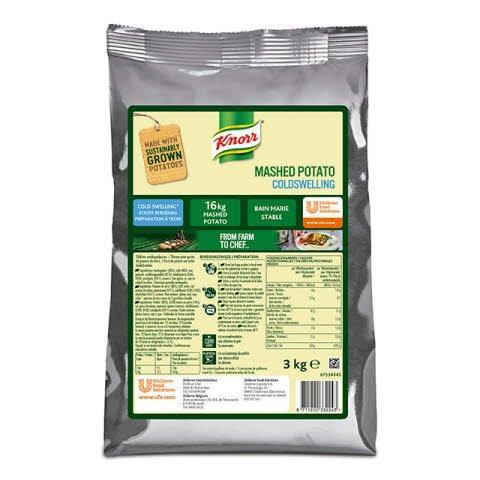 Knorr Puré de patatas en frío bolsa 3Kg -