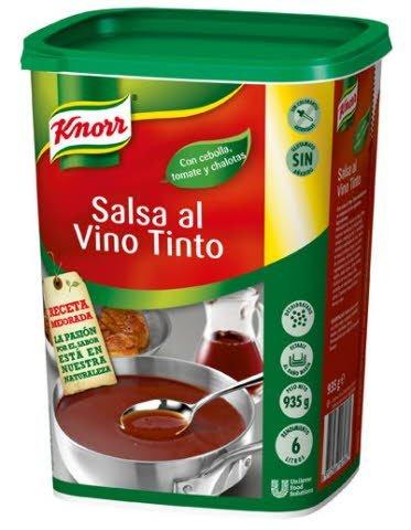 Knorr Salsa al Vino Tinto deshidratada bote 935g