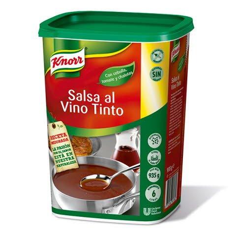 Knorr Salsa al Vino Tinto deshidratada bote 935g -