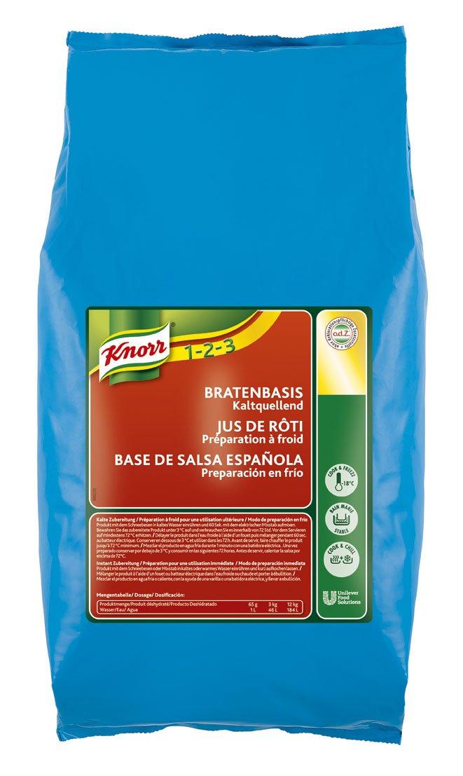 Knorr Salsa Base Española en frío deshidratada Sin Gluten bolsa 3Kg