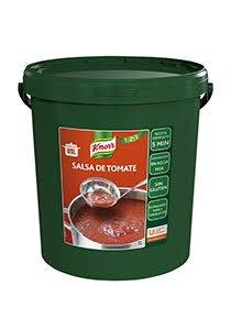 Knorr Salsa de Tomate en frío deshidratada  cubo 10Kg Sin Gluten -