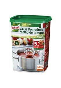 Knorr Salsa Pomodoro para pastas deshidratada bote 875g Sin Gluten
