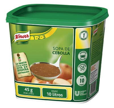 Knorr Sopa de Cebolla deshidratada bote 450g -