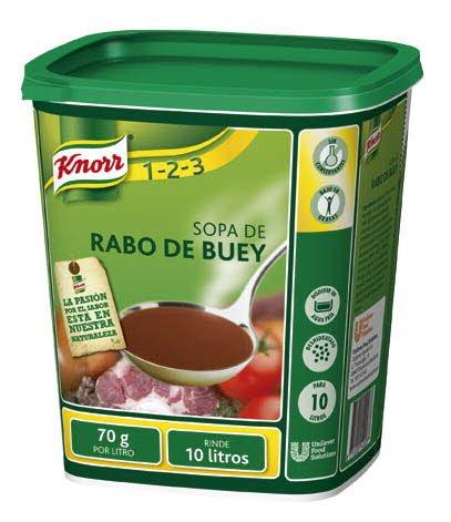 Knorr Sopa de Rabo de Buey deshidratada bote 700g