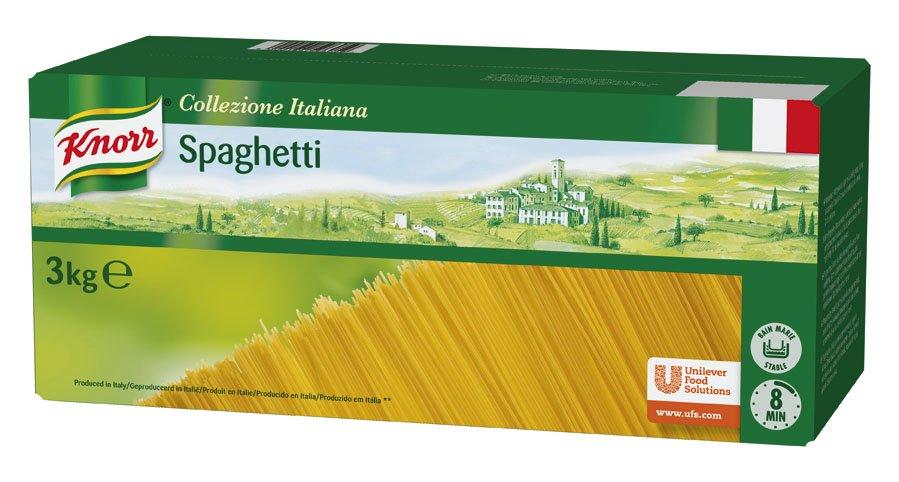 Knorr Spaguetti Pasta Seca Caja 3kg -
